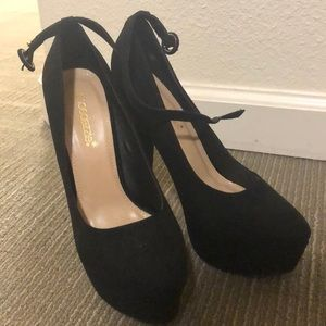 NWOT Shoedazzle Black 5in Pumps